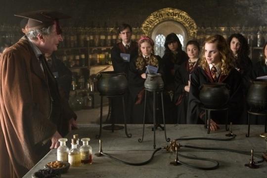 aula de poções hogwarts